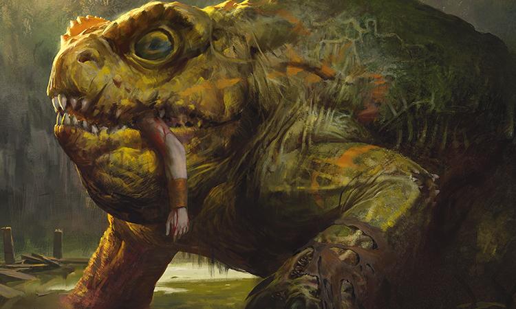 The Gitrog Monster, art by Jason Kang